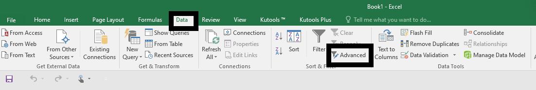 Filtre Avansate Excel